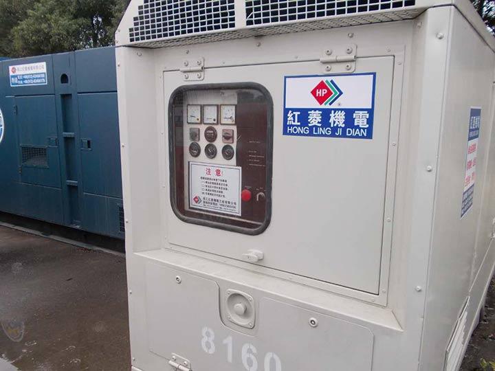 日野发电机租赁