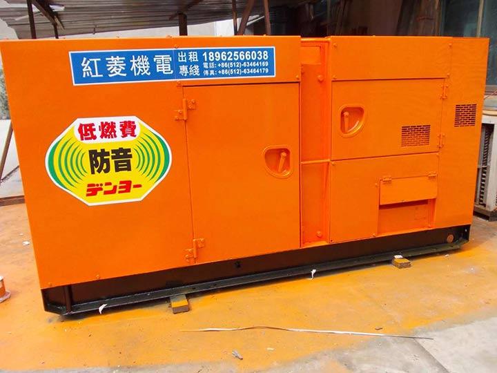 三菱发电机租赁