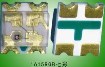 0603RGB红绿蓝三色LED灯珠(共阳/共阴)