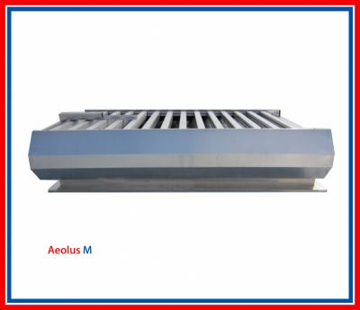 Aeolus smoke exhaust window