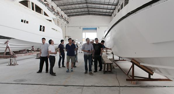 中国海警局莅临星瑞开展技术调研