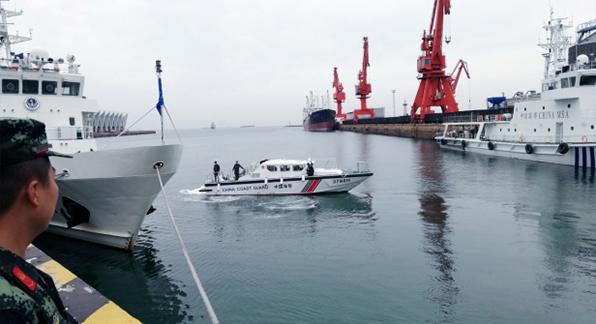 """猎豹1500高速执法艇圆满完成""""上合峰会""""安保任务"""