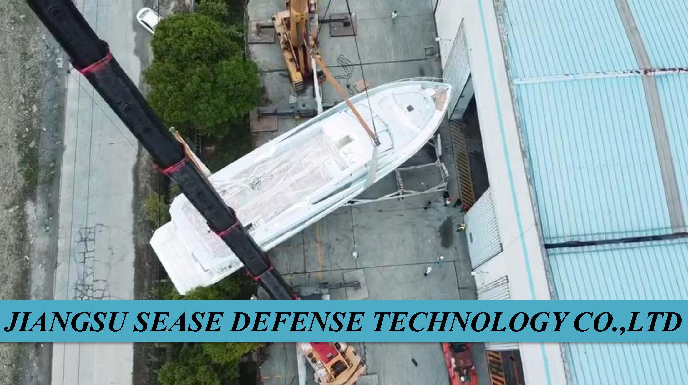 星瑞SEASE 88ft超级游艇安全行河