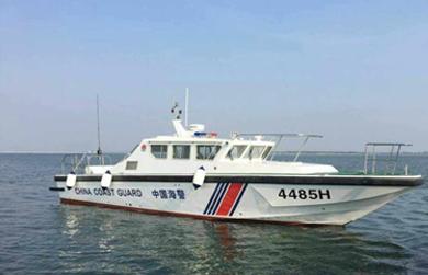 猎豹1500岛礁执法艇